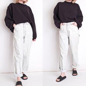 Vintage 90s light wash cargo pocket skater jeans